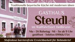 Gasthaus Steudl Wiesenfelden